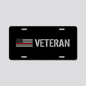 Firefighter: Veteran (Thin Aluminum License Plate